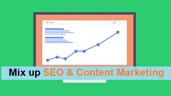 Marry SEO and Content Marketing Strategies